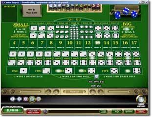 swiss casino online sic bo