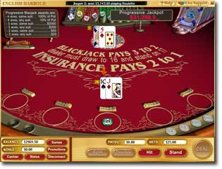 Download Progressive Blackjack